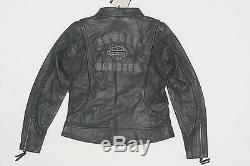Harley Davidson Veste En Cuir Tressé Pour Bar Heritage Pour Femme 98064-13vw XL