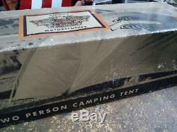 Harley Nos 99102-94v Motorclothes Série Camping 2 Tent Bar & Rare X Bouclier