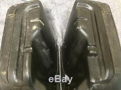 Harley Road King En Cuir 3 Saddlebags Design Boucle Bar & Shield