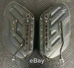 Harley Sacoches De Cuir Rigides Bar & Shield 02 & Plus