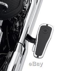 Harley-davidson 50377-07a Crested Bar & Shield Passagers Marchepied Et Kit De Montage