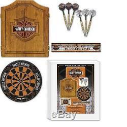 Harley-davidson 61995 Set De Cabines De Jeux De Fléchettes
