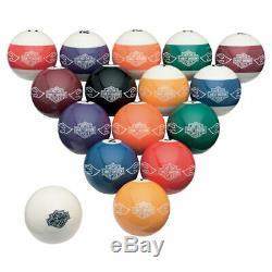 Harley-davidson Bar & Shield Flames Billard Pool Balls Set Hdl-10167