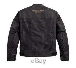 Harley-davidson Bar & Shield Logo Mesh Motorradjacke 98162-17em