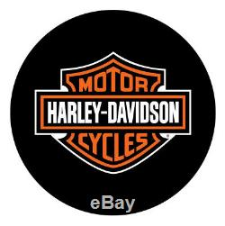 Harley-davidson Bar & Shield Logo Round Table Café, Durable Et Chrome Hdl-12314