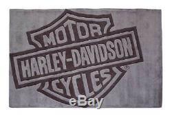 Harley-davidson Bar & Shield, Petit Tapis, Tapis Tufté À La Main Hdl-19503