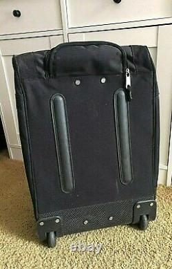 Harley-davidson Bar & Shield Rolling Wheeled Duffel Travel Bag Grand