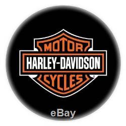 Harley-davidson Bar & Shield Tabouret De Bar Avec Dossier Hdl-12204