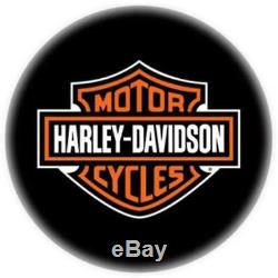 Harley-davidson Bar & Shield Tabouret De Bar Avec Dossier Hdl-12204 Lot De 4