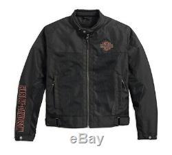 Harley-davidson Barre & Shield Logo Maille D'équitation Gr. Gr. XL Herren Sommer