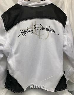 Harley-davidson Femmes 2xl Riding Mesh Jacket, Callahan Bar & Shield 98092-15vw