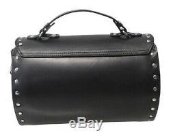Harley-davidson Femmes Bar Winged Black & Shield Cylindre Sac À Main Hdwba11469