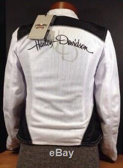 Harley-davidson Femmes M Mesh Riding Jacket, Callahan Bar & Shield 98092-15vw