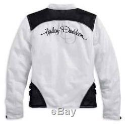 Harley-davidson Femmes Veste D'équitation Mesh, Callahan Bar & Shield 98092-15vw