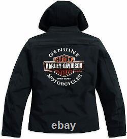 Harley-davidson Legend Bar & Shield 3-en-1 Soft Shell Riding Jacket 98170-17ew