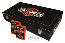 Harley-davidson Marque Bar & Shield Professional Poker Chip Set Jeu