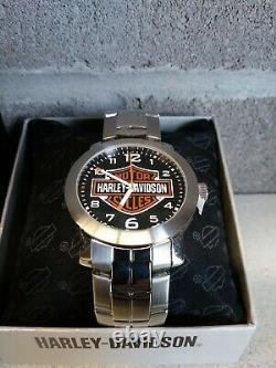 Harley-davidson Men's Bar & Shield Watch