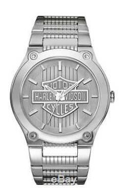 Harley-davidson Montre Homme Bulova Bar & Shield 76a134