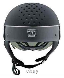 Harley-davidson Unisex Trenton Bar & Shield Bi-tone B13 Half Helmet, 98105-20v