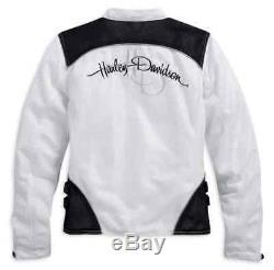 Harley-davidson Veste D'équitation En Filet Pour Femmes, Callahan Bar & Shield 98092-15vw