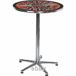 Harley-davidson Winged Bar - Shield Bar Table- 41inh