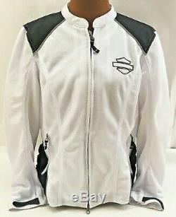 Harley-davidson XL Femmes Mesh Riding Jacket, Callahan Bar & Shield 98092-15vw