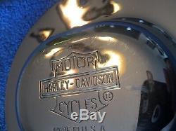 Harley-davisdon Bar & Shield Nostalgique Derby Cover Heritage Springer Flsts