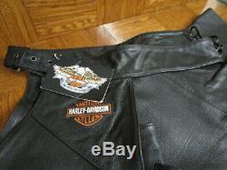 Harps En Cuir Pour Homme Bar & Shield Stock De Harley-davidson 98090-06vm Grand