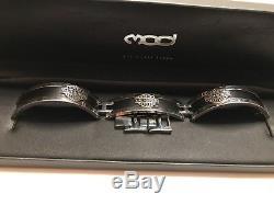 Hsb0001-7.5harley-davidson Bar & Shield Men Gourmette ID Bracelet