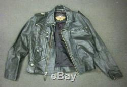 Manteau En Cuir Pour Homme Harley Davidson Bar And Shield Medium Med M