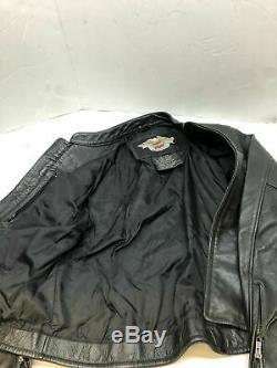 New Bar Harley Davidson Féminin Et Le Bouclier D'équitation En Cuir Veste Taille Moyenne De