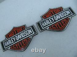 Nos Harley Davidson New Bar & Shield Réservoir De Gaz Médaillon Badges Emblèmes Fxr