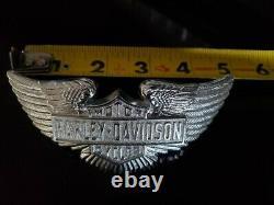Nos Vintage Harley Bar & Shield Logo, Produits À Droite, 1974 Ceinture Boucle