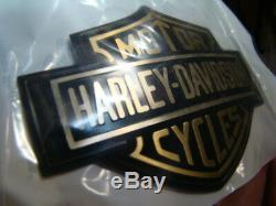 Nouveau Emblème De Réservoir Harley Fxr Bar & Shield 14072-86 Fxrt Fxrp Fxrs Fxrd Nos Ep13891