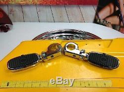 Oem Harley 88-17 Bar & Shield Crash Moteur Garde Bar Touring Pegs Chrome