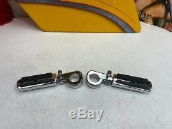 Oem Harley 88-20 Bar & Shield Engine Protection De La Barre Crash Route Pegs Chrome
