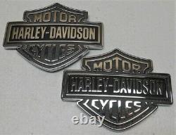 Oem Véritable Harley 2021 Touring Réservoir De Carburant Emblems Bar Shield Logo Médailles