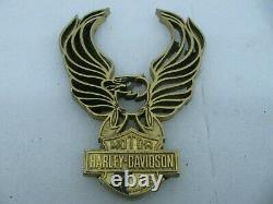 Original Harley Davidson Bar & Shield Eagle Medallion Sportster Shovelhead Fxr