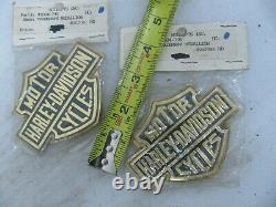 Paire Nos Original Harley Davidson Bar & Shield Médaillons 99004-79v Shovelhead