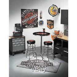 Petit Tapis Harley-davidson Bar & Shield 5ft. L X 3ft. W