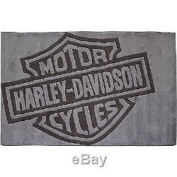 Petite Harley-davidson Bar & Shield Tapis 5 Pi. L X 3 Pi. W