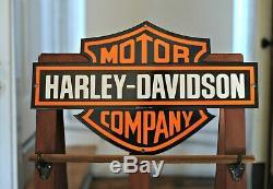 Porcelaine Harley Davidson Bar And Shield 23 X 13 Connectez-vous