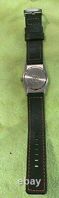 Rare Harley-davidson Homme Bulova Bar & Shield Wrist Watch 76b31