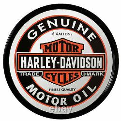 Retro Look De Harley-davidson Wandspiegel Hdl-15216 Bar & Shield