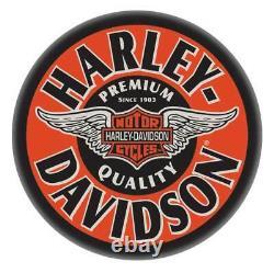 Tabouret Harley-davidson Ailé Bar & Bouclier Tabouret Chromé Hdl-12135