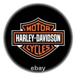 Tabouret Harley-davidson Bar & Shield Bar Avec Dos Hdl-12204
