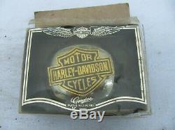 Une Nos Harley Davidson Bar Bouclier Médaillon Gaz Bouchon 99023-81v Shovelhead