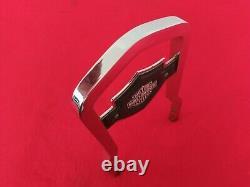 Véritable 82-03 Harley Fxr Bar & Shield Backrest Upright Sportster Dyna Sissy