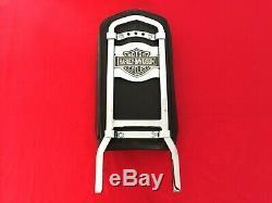 Véritable 82-03 Harley Fxr Bar & Shield Vertical Sportster Dyna Sissy Bar Dossier