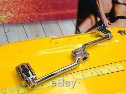 Véritable Harley Bar & Shield 86-20 Touring Softail Shifter Manettes & Pegs